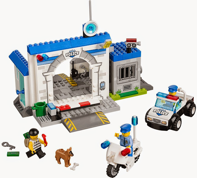 Quang cảnh sinh động trong Bộ lắp ghép Lego Juniors 10675 Cuộc tẩu thoát