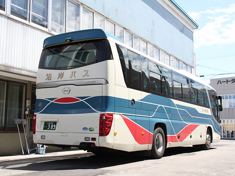 沿岸バス「特急はぼろ号」 ・389 リア 豊富行き