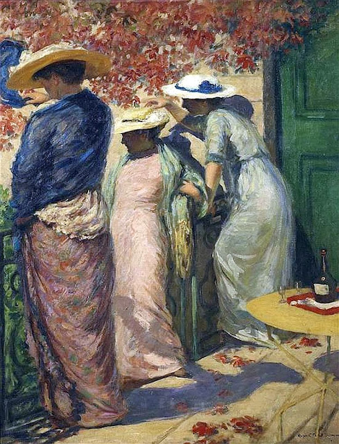 Rupert Bunny - Under the Red Plum Tree (1915-1917)