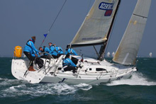 J/111 Xcentric Ripper sailing in Netherlands