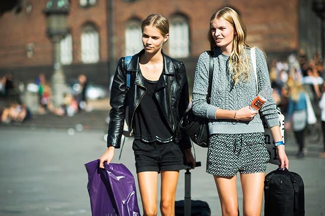 *秀場外的街拍:Copenhagen Fashion week 熱鬧登場! 1