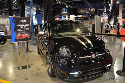 Fiat 500 Carbon Show Car