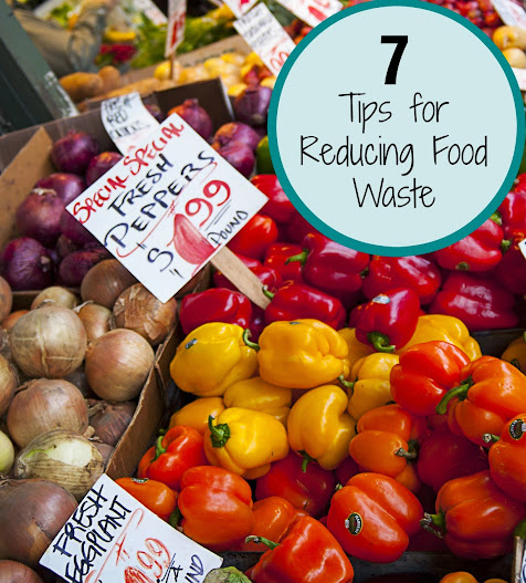 7 Tips for Reducing Food Waste