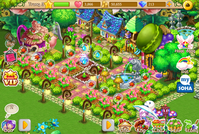 Vườn Yêu ra mắt phiên bản mới 2.1.004 1