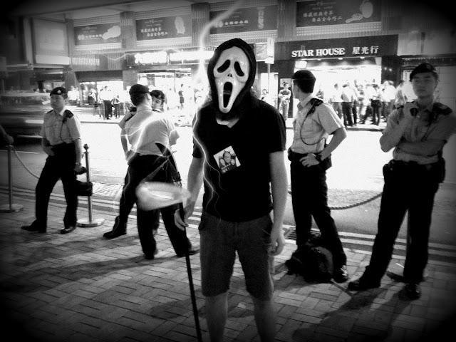 佔領中環之警察與魔鬼