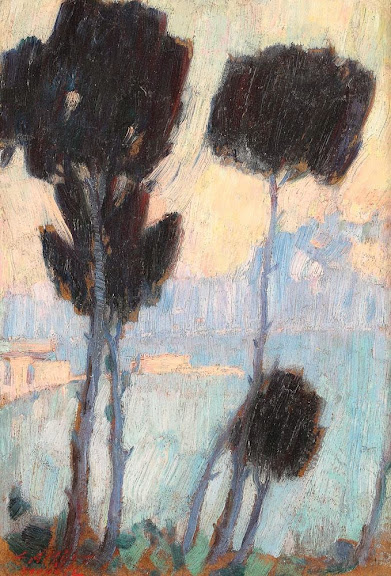 Leon Biju - Dimineață pe Nil