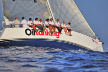 J/133 Oiltanking Juno sailing Rolex Middle Sea Race
