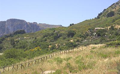 Sizilien - Wandern bei Piana degli Albanesi.