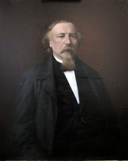 Ecole française, Portrait d'Alexis Vagny, XIXème siècle