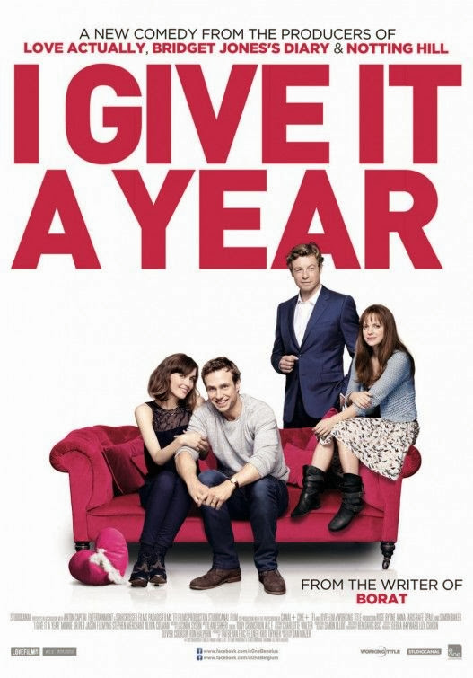 Poster Of English Movie I Give It a Year (2013) Free Download Full New Hollywood Movie Watch Online At Alldownloads4u.Com