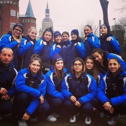 Naz Femm. Jun/Youth: Queens Cup2015: Cinque Ori e Due Argenti è Grande Italia in Germania