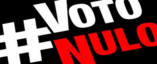 Não se anule. Vote nulo!
