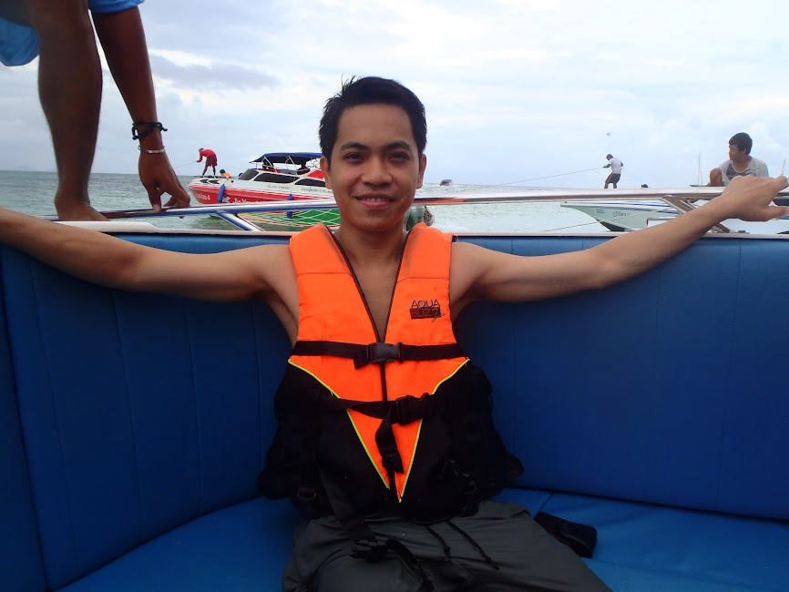 Speedboat from Krabi to Ko Phi Phi