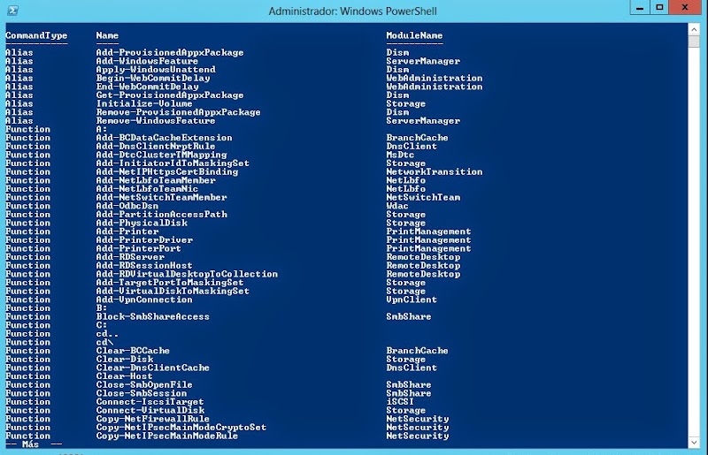 how to get help on a powershell command