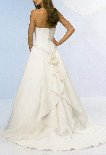 Elegante einfache Brautkleid  , Simple Hochzeitskleider