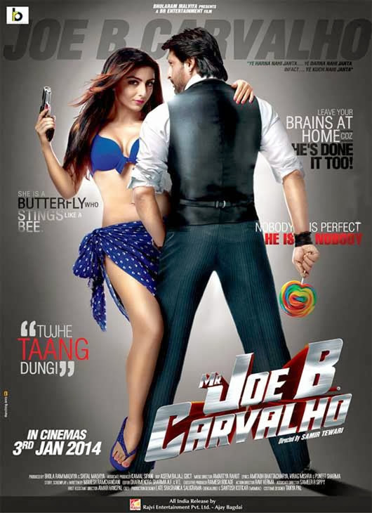 Poster Of Hindi Movie Mr. Joe B Carvalho (2014) Free Download Full New Hindi Movie Watch Online At alldownloads4u.com