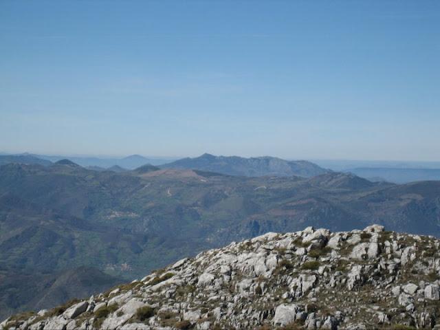 Rutas Montaña Asturias: Desde el Barriscal, vista de Peña Manteca