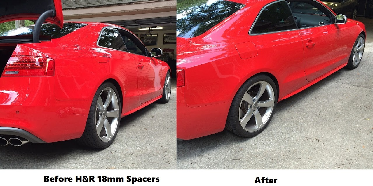 Before Amp After Pics Of H Amp R 18mm Rear Spacers