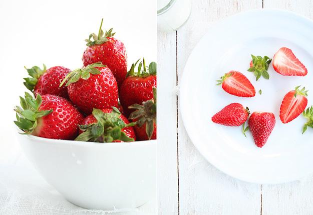 Falso tiramisu con fresas