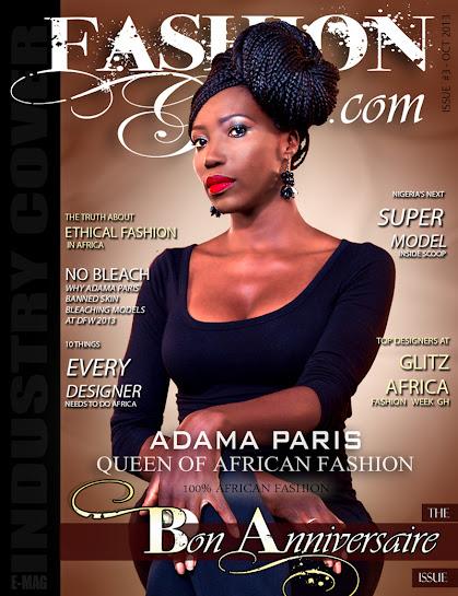 Adama Ndiaye Paris Dakar Fashion Week Black