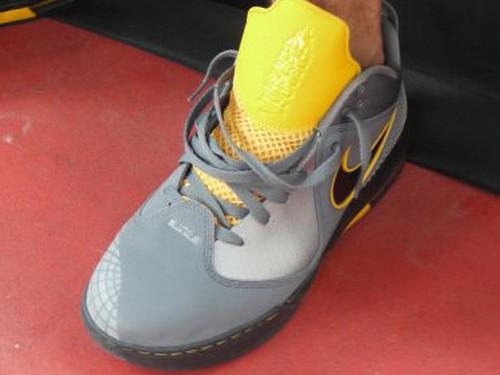 Nike Ambassador IV 8211 GreyBlackMaize 8211 Jason Petrie Sample