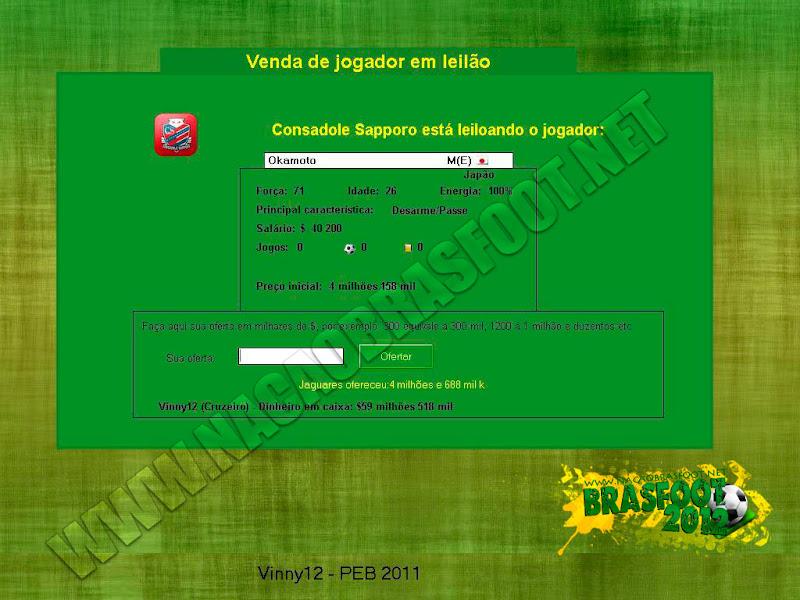 Patches para o brasfoot 2012 gratis