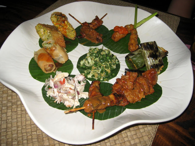 Amazing Indonesian Tapas Platter
