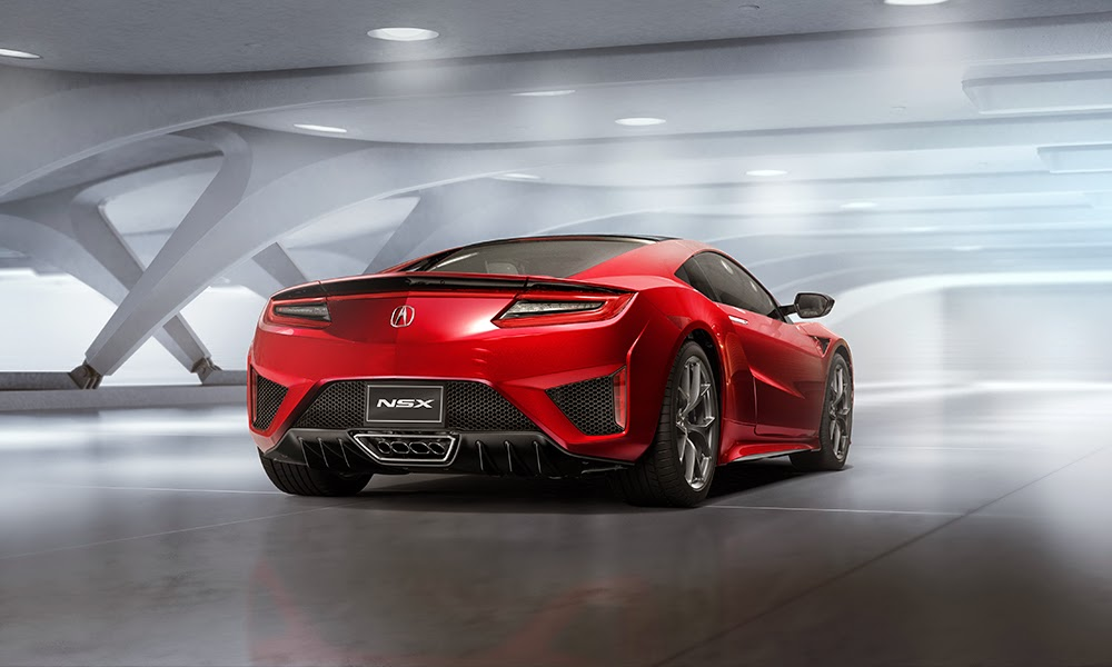 2016 acura nsx video