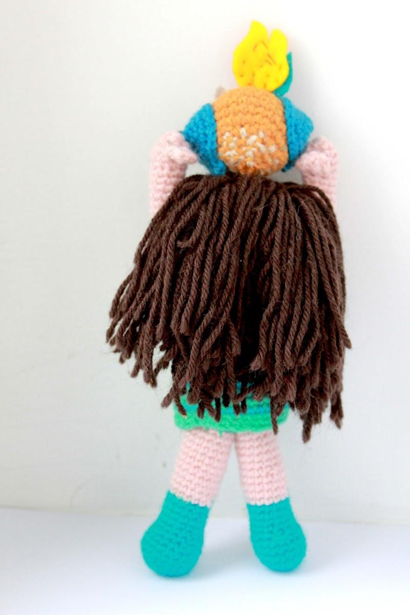 Amigurumi Pattern Girl : Amigurumi Owl Girl crochet pattern The Sun and the Turtle