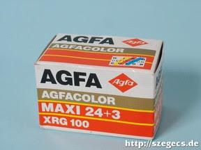 AGFACOLOR XRG 100
