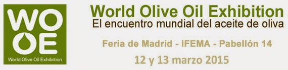 World Olive Oil Exhibition 2015, los días 12 y 13 de marzo 2015