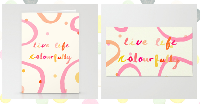 new work   live life colourfully