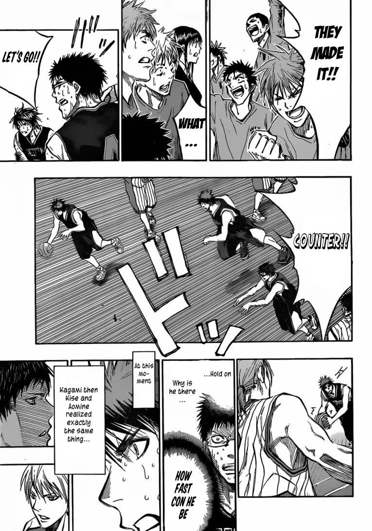 Kuroko no Basket Manga Chapter 168 - Image 09