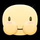 Baby face Facebook sticker