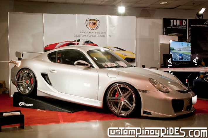 Keith Haw Porsche Cayman S Custom Pinoy Rides pic1