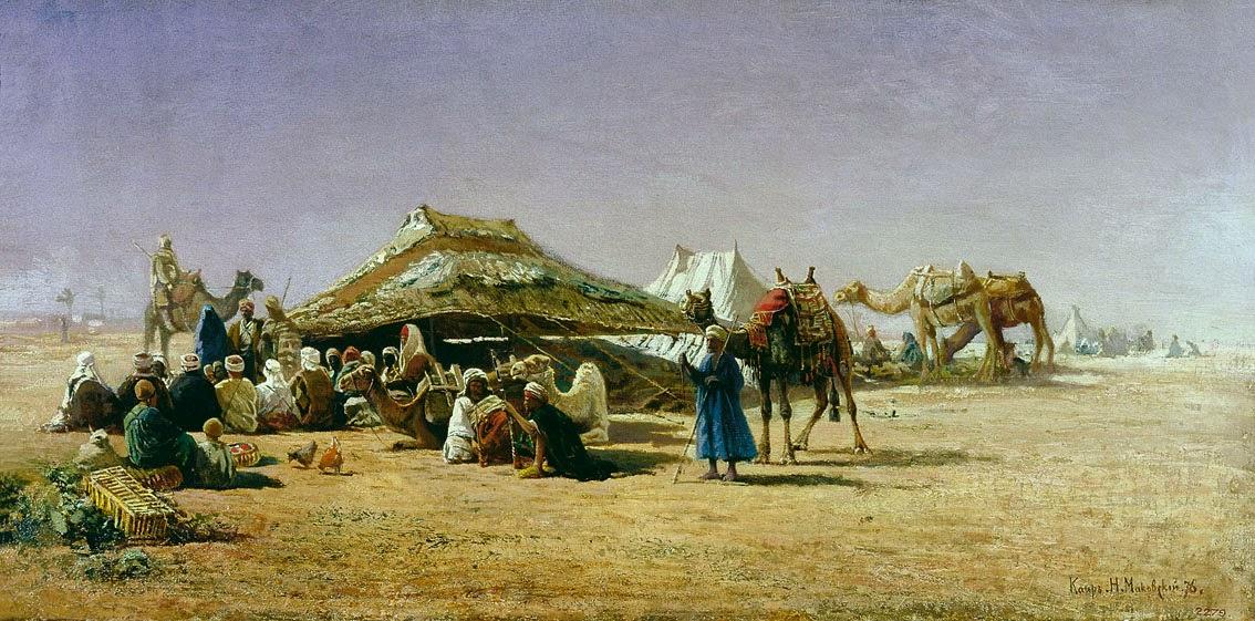 Nikolay Makovsky - Cairo 1876