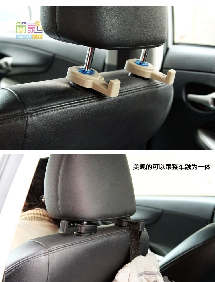 automotive interior car seat back hook hanger holder k2342 11street malaysia consoles. Black Bedroom Furniture Sets. Home Design Ideas