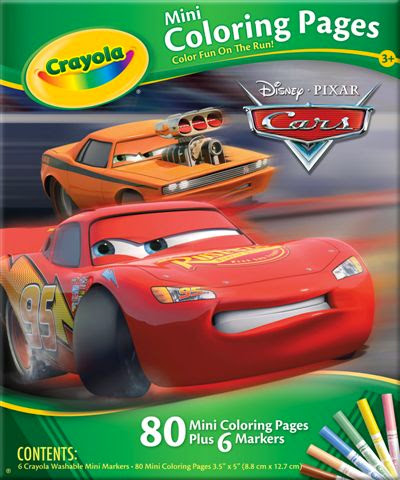 Hộp bút giấy tô màu hình xe hơi