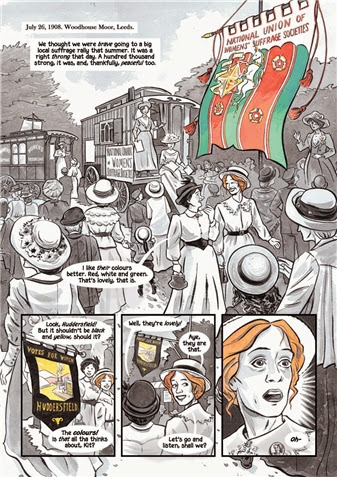 Sally Heathcote, Suffragette by Mary Talbot, Kate Chalesworth and Bryan Talbot