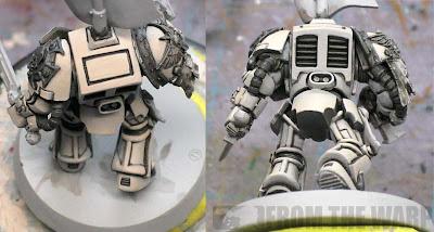 painting bone armour