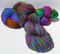 Arcadia on Arthur Superwash Merino Sport - Trim Option & Penny Ship