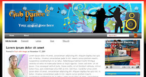 Free Wordpress Theme - Club-Dance