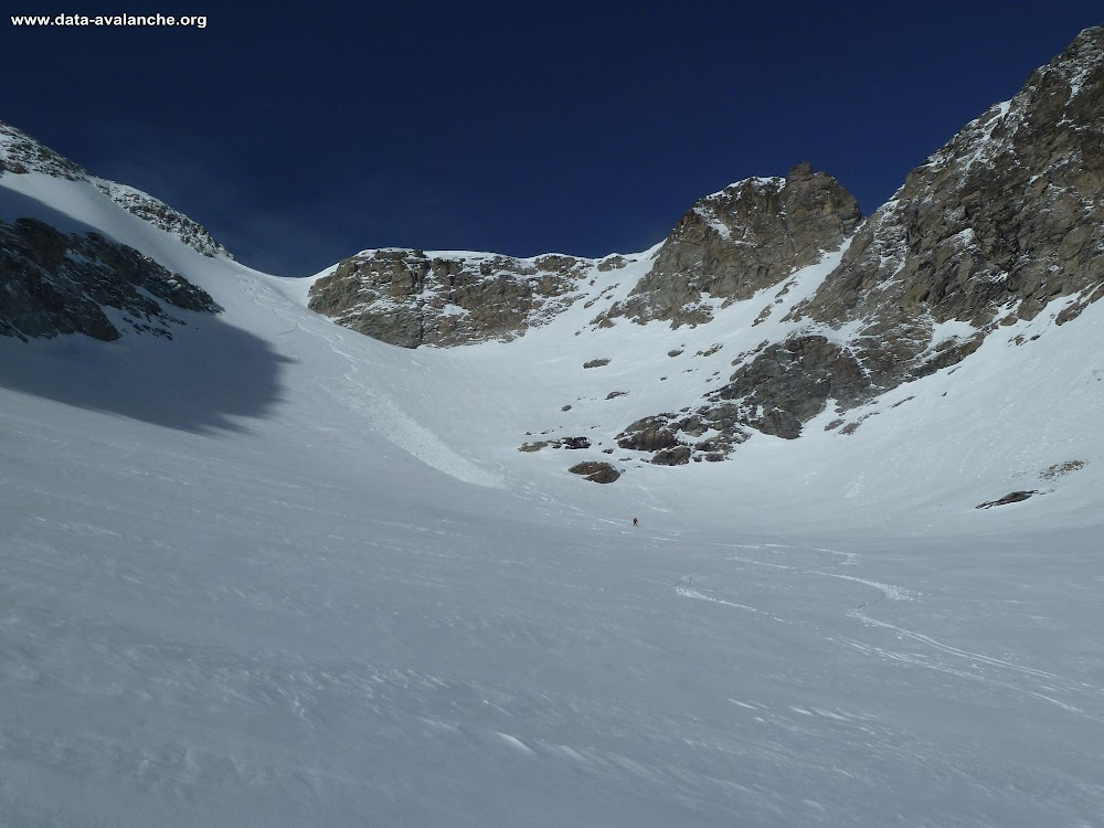 Avalanche Haute Maurienne, secteur Pointe d'Ambin - Photo 1