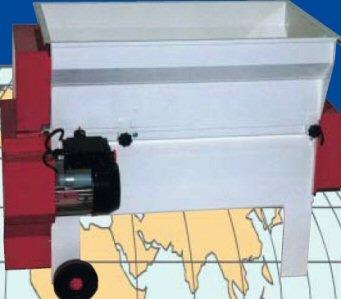 Επαγγελματικός απορογιτήρας-διαχωριστήρας Enoitalia τύπου Jolly 25/E βαμμένος, με ανοξείδωτη (inox) αντλία