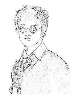 Daniel Radcliffe Sketch