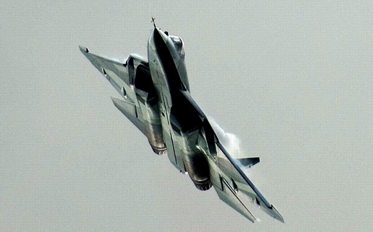 Sukhoi T-50 Jet Fighter Wallpaper 4
