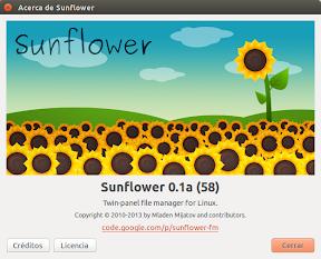 Sunflower en Trusty Tahr y el renombrado avanzado