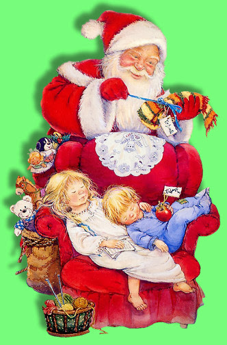 Santa & Sleeping Kids sm_LM_AP_11-03~pjs.jpg