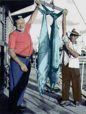 Ernest Hemingway y Gregorio Fuentes