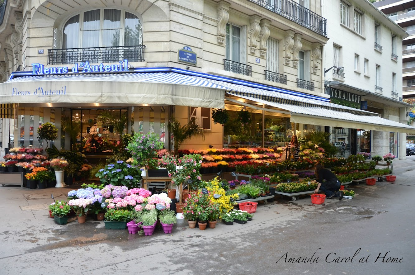 Paris Flower Markets
